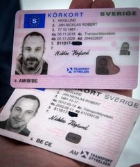 Order fake Swedish drivers licence