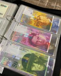 Counterfeit Swiss Frank for sale